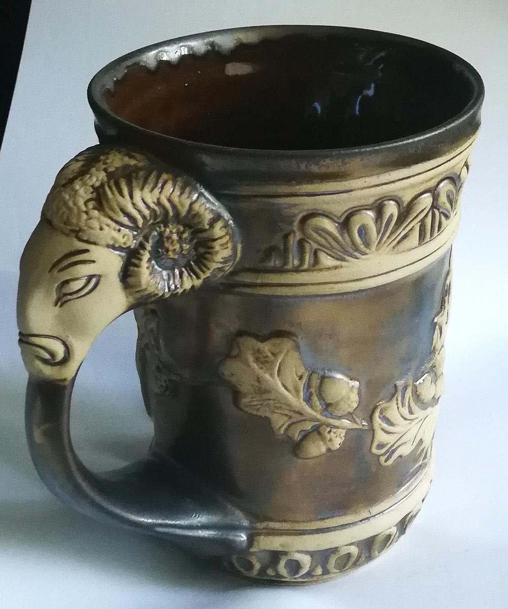 Керамична чаша Овен