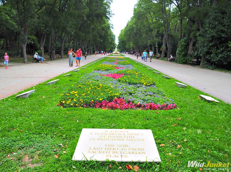Морската градина, Варна