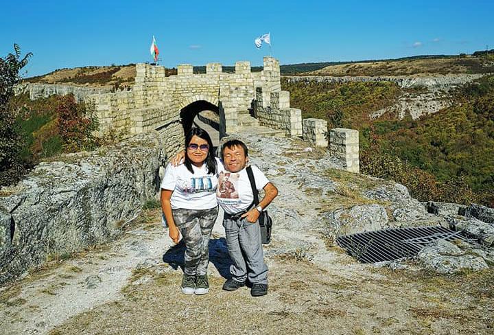 На крепостта Овеч