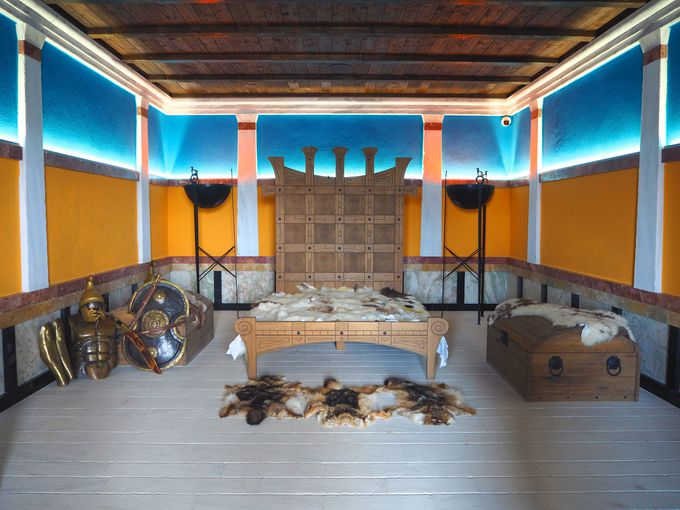 Царската спалня в двореца