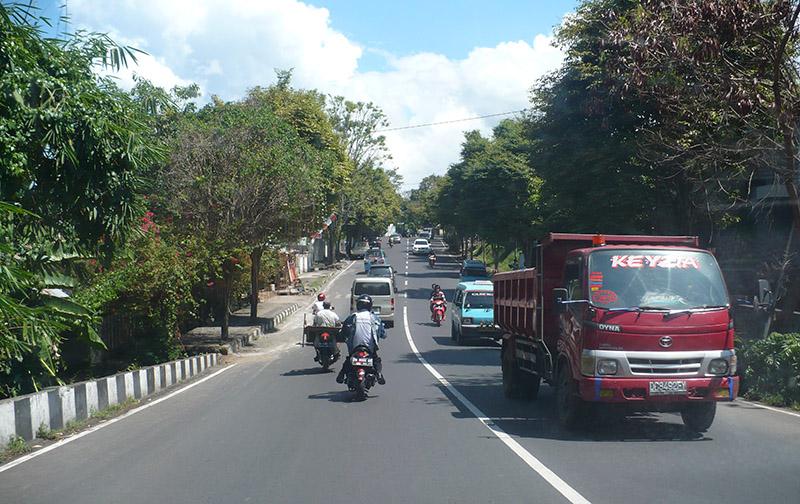 Изглед на една от улиците на града