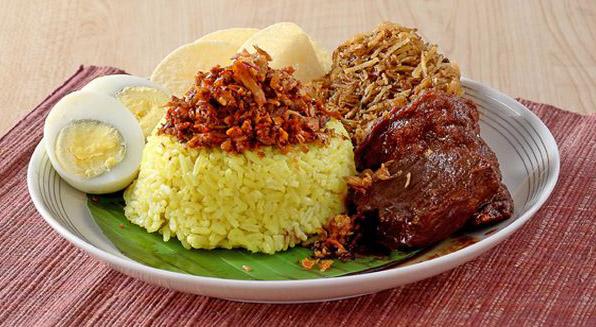 Наси кунинг - жълт ориз