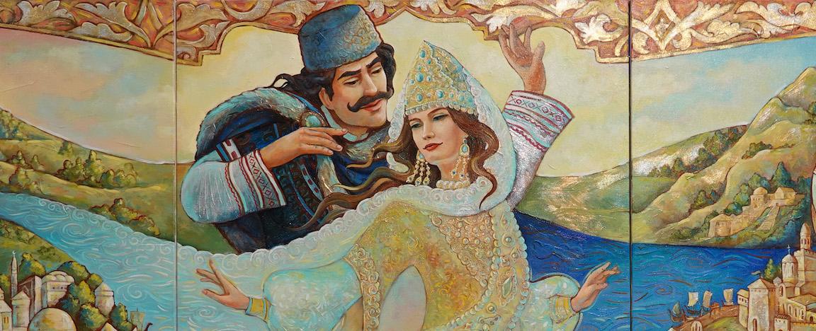 Танцът на Волга и Дунав, Анастасия Шамова, Русия